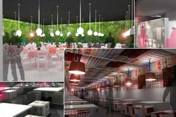 Diseño sala VIP de Arcos 2012