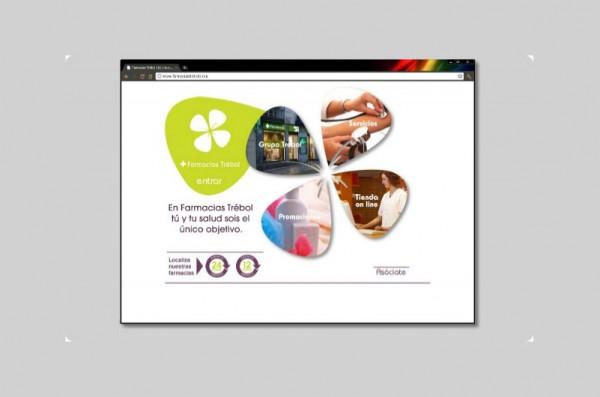 Desarrollo web Farmacia Trebol