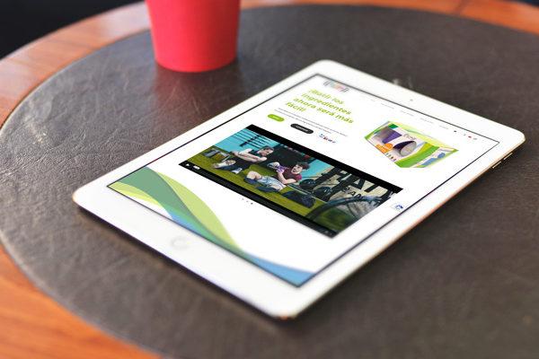 web en tablet