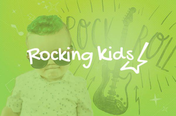 Rocking kids