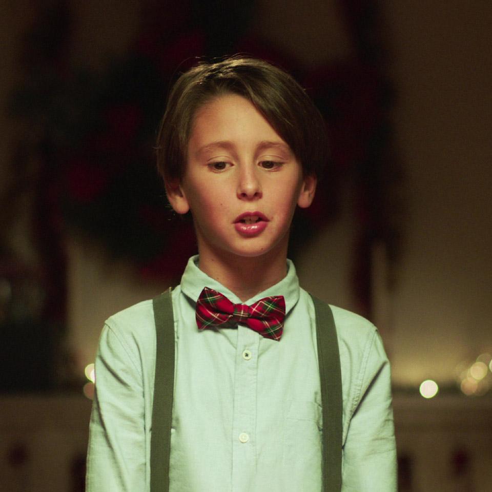 Mensaje de Navidad de un niño