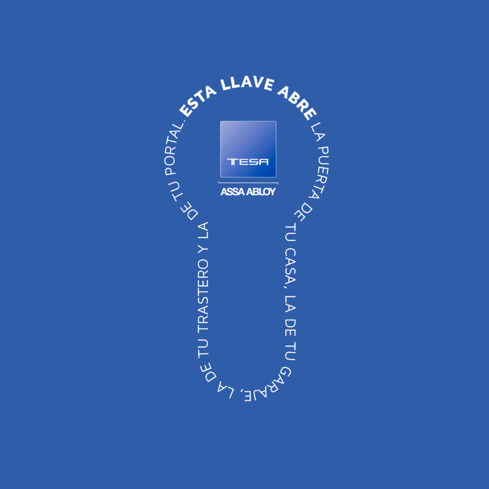 Perfil de una llave de seguridad