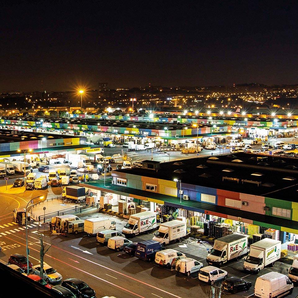 Mercamadrid mercado
