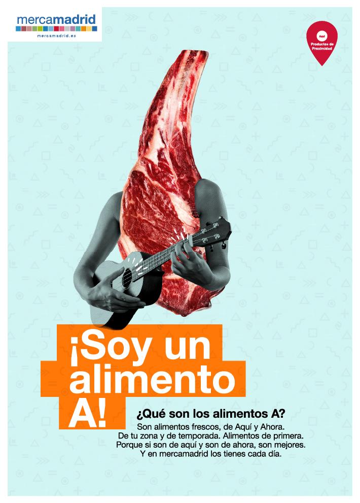 Grafica carne Alimentos A Mercamadrid
